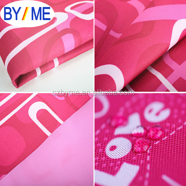 100% polyester 600d pvc coated oxford fabric for bag tent
