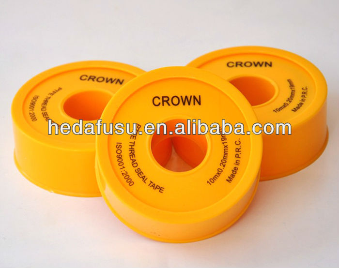 thread seal tape 100% PTFE good quality for water gas oil pipe