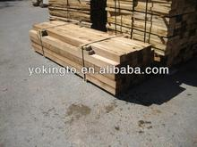 Cedar / China fir fence post wood products