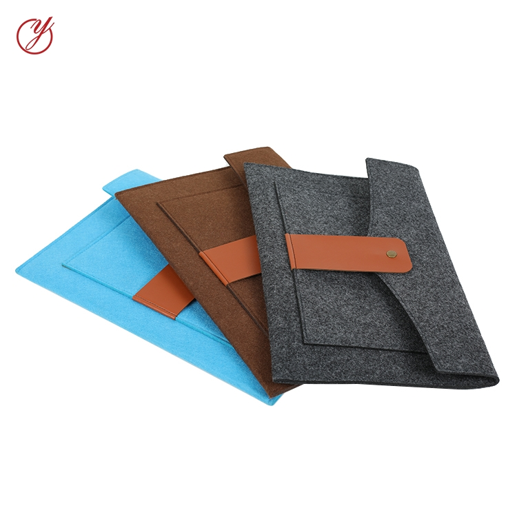 China promotion cheap waterproof wool felt laptop back cover