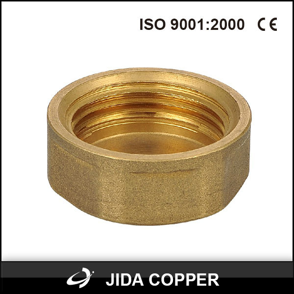 brass pipe fitting/cap /plug