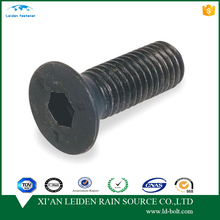 carbon steel 4.8 8.8 iso10642 countersunk head m8 screw dimensions