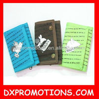 promotional children/kids cotton wallet/children wallet