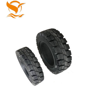 Fast delivery 13 inch solid rubber forklift truck tire