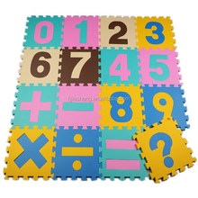 Foam Alphabet Letters and Numbers Interlocking Puzzle Play Mat