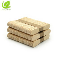 China factory price sterilized disposable wooden ice cream stick tools