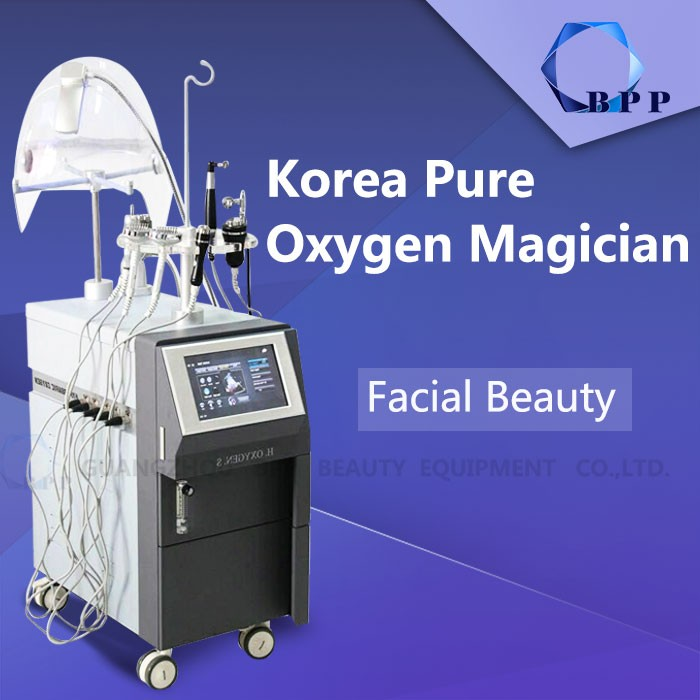 2017 Newest BIO RF facial water oxygen jet peel machine