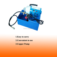 WEIYE mini 0-25 bar electric pipe pressure test pump DSY-25 / 3.0L/m for pipeline with tank