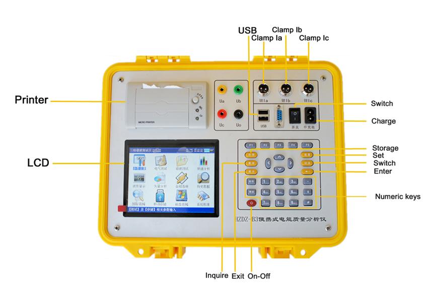 Electrical Network Analyzer : Hz multi functional network power analyzer buy digital