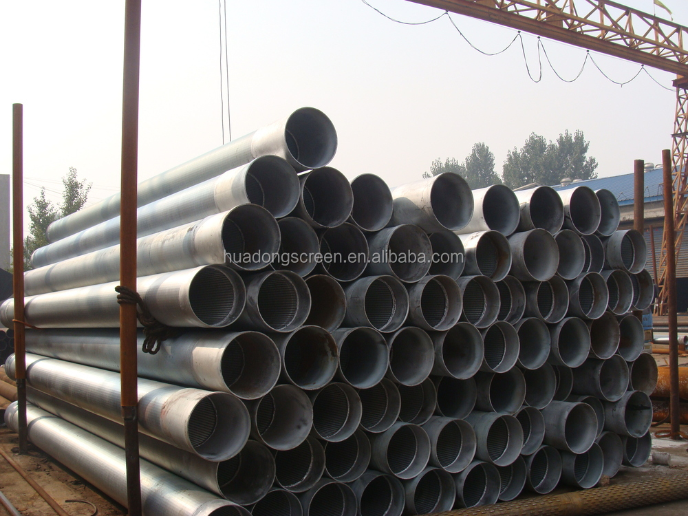 Professional manufacture and export 16inch continuous slot screen/v wire slot tube (manufacture)