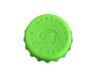 Offer custom beer bottle crown cap 100% silicone