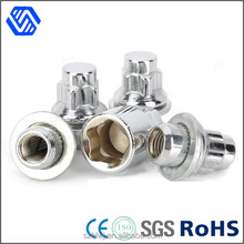 manufacturer china car parts polished stainless steel coupling nut