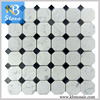 /product-detail/white-mixed-black-marble-octagon-mosaic-tiles-for-the-wall-and-floor-60500303562.html
