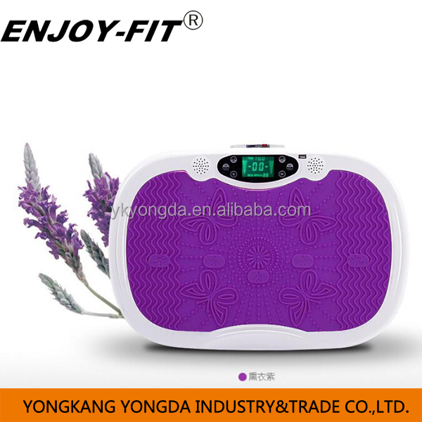2015 new MP3 music function blue tooth function crazy fit massage magic fit massage vibration plate