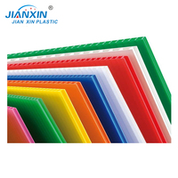2 mm Twin Wall Polypropylene PP Hollow Sheet/ Coloured Correx Fluted Board