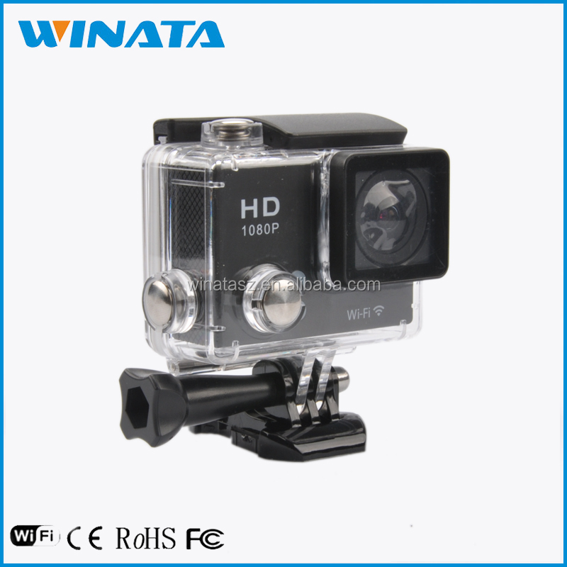 Sports Cam Full Hd 1080p 60FPS Action Camera Waterproof And WiFi Mini DV 4K Go Pro Hero4 Camera