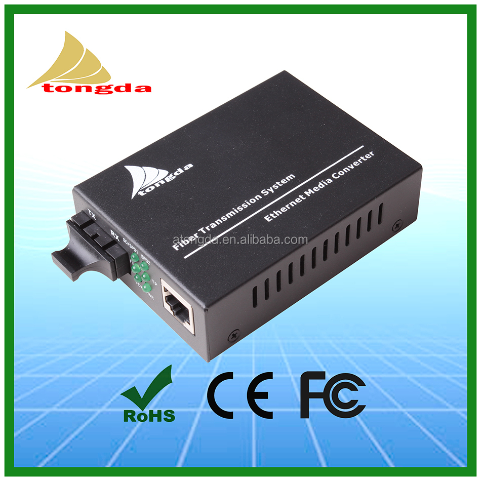 10/100M Ethernet fiber optic to RJ45 media converter CCTV System