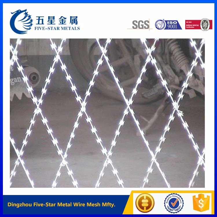 gold supplier concertina razor barbed wire fencing