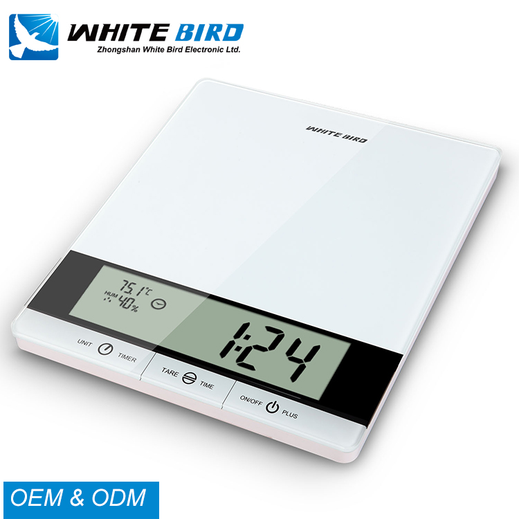 Wholesale mini 5kg electronic glass digital multifunction kitchen and food scale