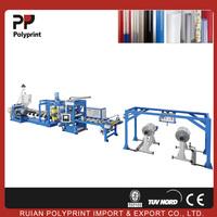 Good plasticizing pp ps sheet extrusion machine