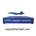 Advertising equipment, advertising display for exhibitions, magnetic levitating and turning acrylic display stand