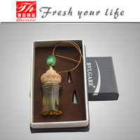 Air freshner perfume bottle hanging car fragrance
