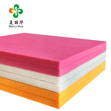 2018 Newest acoustic panels soundproofing low melt polyester fiber