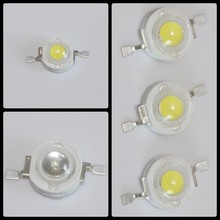 uv red yellow blue 2800k 6500k 10000k white 1w led diode