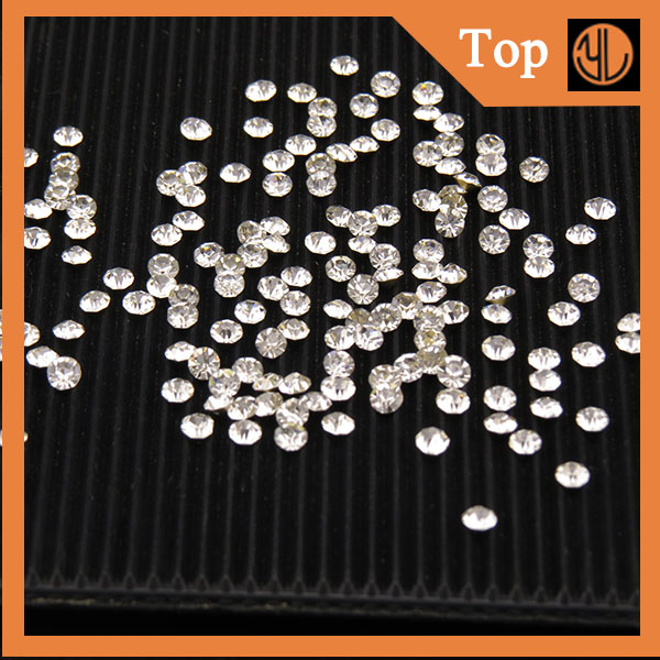 Factory Directly Sell Crystal Round hot fix Rhinestone 3d picture