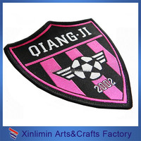 Free samples Laser cut uniform badge design football club badges