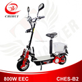 Zhejiang Chihui EEC 800W 36V long range folding electric scooter