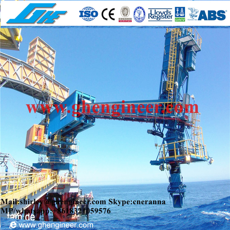 Bulk Cargo Port Telescopic ship loader system