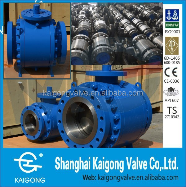 Trunnion Ball Valve Flange connection Class150 18inches