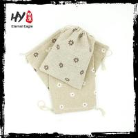 Multifunctional canvas bag tote, recyclable shopping cotton bag, polyester drawstring bag