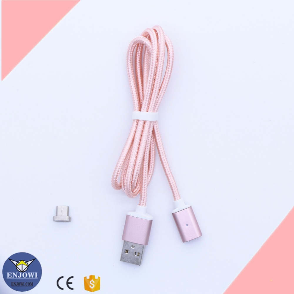 generation magnetic braided usb charging cable for android phone