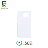 100% plastic blank sublimation coated cover cell phone case for iPhone 6s Plus