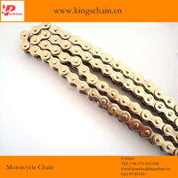 chinese made 420 40Mn steel nickel plate motorcycle roller chain