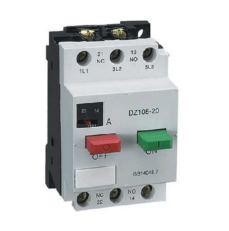 DZ108-20 MPCB 3P 0.4~0.63A motor protection circuit breaker,miniature circuit breaker