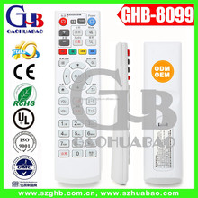 GHB-8099 50keys learning or universal multi function led tv remote control