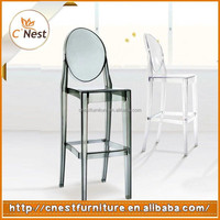 Hot Sale Modern Plastic High Legs leisure bar stool