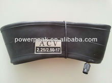 2.25/2.50 17 motorcycle tyre inner tube 225/250 17 butyl natural rubber