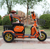 hot sale large adult tricycle three wheeled electric beach tricycle