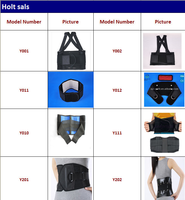 Healthcare work support hot compress body waist trimmer waist guard waist support belt with steel plates AFT-Y111