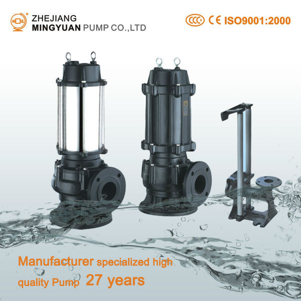 5hp Water Pumps Centrifugal Submersible Sewage Pump