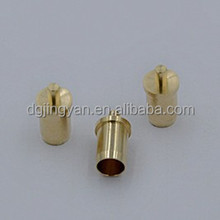 2015 China made High precision hollow brass pogo pin connector