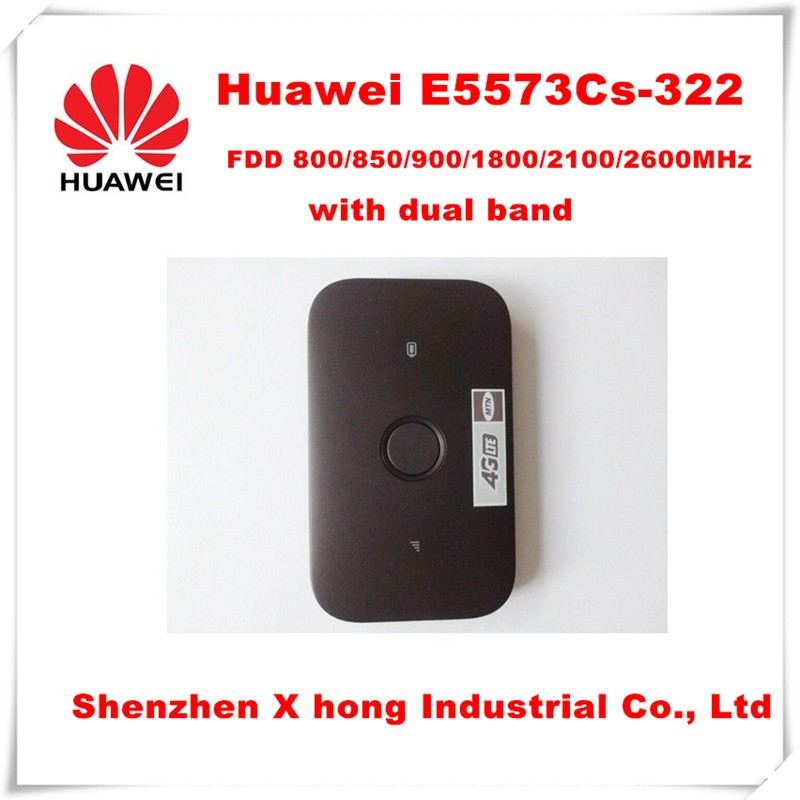 Unlocked New Original Huawei E5573Cs-322 Cat 4 LTE 4G Wireless Router and Mobile WIFI Hotspot