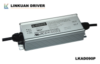 L(144+25)xW61xH36mm IP67 waterproof 100W 2700mA ul led driver with UL certificate number E478938 for street lights