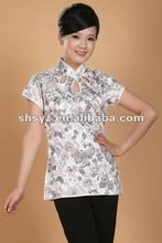 2012 Chinese tradition clothes ladies Blouse Shirt tops