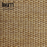 Natural material Rattan Wallpaper Wallcoatings material