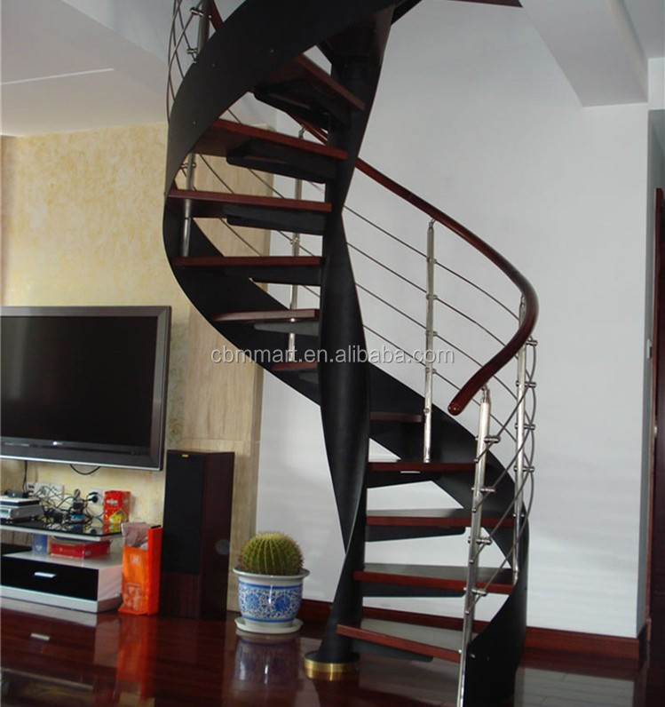 Outdoor metal spiral stair buy stair outdoor spiral for Aluminum spiral staircase prices